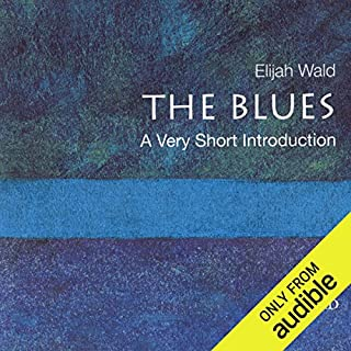 The Blues: A Very Short Introduction  audiobook cover art