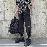 Dongwall Monos De Hombre Hot Men Harem Pants Streetwear Mens Hip Hop Patchwork Cargo Pantalones Casual...