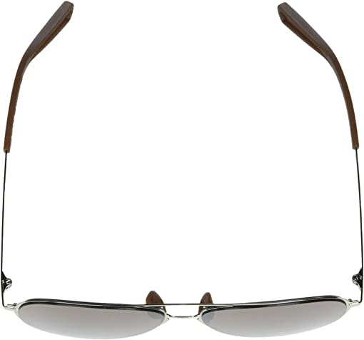 Gloss Silver Frame/Brown Rubber/Tuned Road Lens
