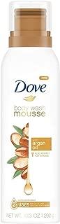 Dove Concentrated Body Wash Mousse Argan Oil, 10.3 oz