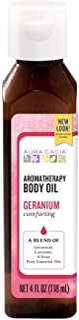 Aura Cacia Comforting Geranium Aromatherapy Body Oil   4 fl. oz.