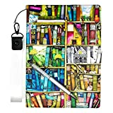 Lovewlb Tablet Funda para Vodafone Smart Tab Prime 6 Funda Soporte Cuero Case Cover SJ
