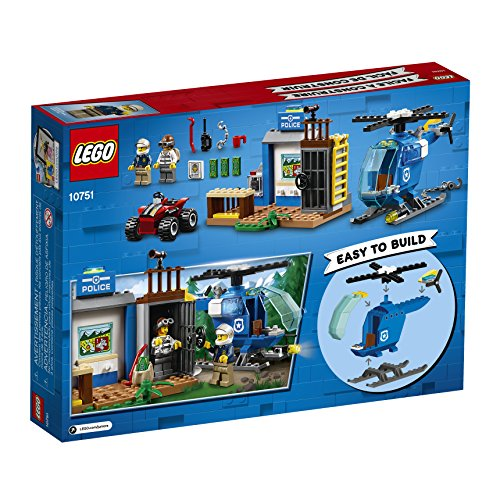 Ensemble de Construction LEGO Juniors La Poursuite Policière en Montagne (115 pièces) 10751 - 3