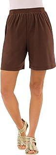 Amazon Com Shorts Para Mujer Talla Grande Shorts Tallas Grandes Ropa Zapatos Y Joyeria
