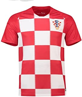 Sykdybz 2018 Football Uniform Croatia Home Adult Children Teenager Jersey Suit Training Team Clothing Fans Souvenir