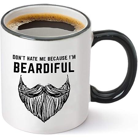 With Great Beard Comes Great Responsibility Coffee Mug Tea Cup 12 oz