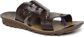 PARAGON Men's Brown Outdoor Sandals - 8 UK (42 EU) (9 US) (A1PU66010GBRN00008G329)