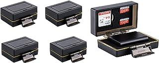 4 Unidades – 2 – 1 Tarjetas de Memoria y Caja Protectora de batería para Canon LP-E17 Compatible con Canon EOS M3 EOS M6 EOS 77D EOS 200D EOS 750D Canon EOS 760D EOS 800D