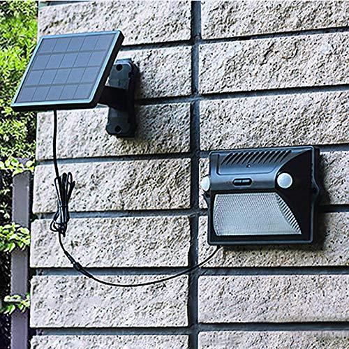 Instelbaar zonnepaneel, zonnelamp, buitenverlichting, dubbele action detector, sensor, kleurverandering, muur, zonne-tuin, licht