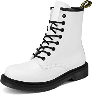 Best white boots lace Reviews