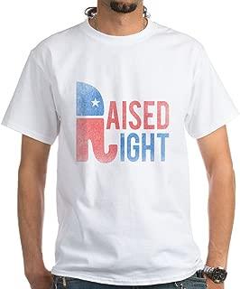 Raised Right Vintage White T-Shirt Cotton T-Shirt