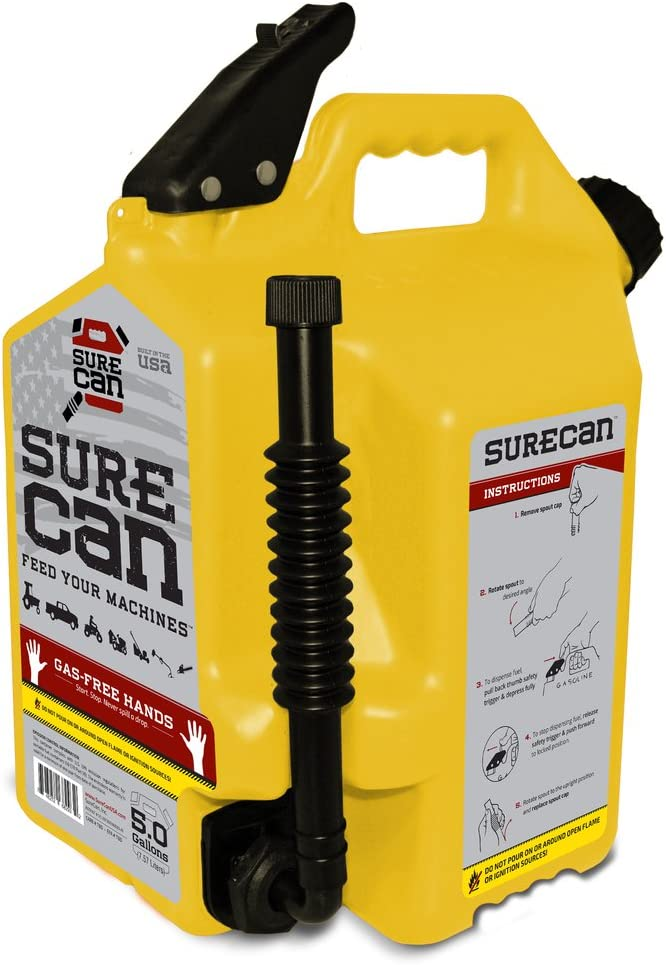 Surecan High quality new 5 Gallon Self Venting Diesel 180 100% quality warranty Fuel with Can Container