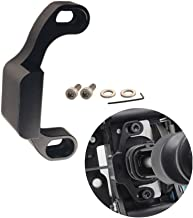 DEWHEL Manual Performance Shifter Stop Gap Removal Shift Stop Removes Loose Sloppy Shift Gate Feel CNC Aluminum for 2015+ WRX/10-14 Legacy/Outback/14+ Forester (Black)
