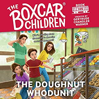 The Doughnut Whodunit                   By:                                                                                                                                 Gertrude Chandler Warner                               Narrated by:                                                                                                                                 Aimee Lilly                      Length: 1 hr and 37 mins     30 ratings     Overall 4.5