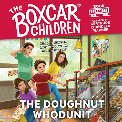 The Doughnut Whodunit cover art