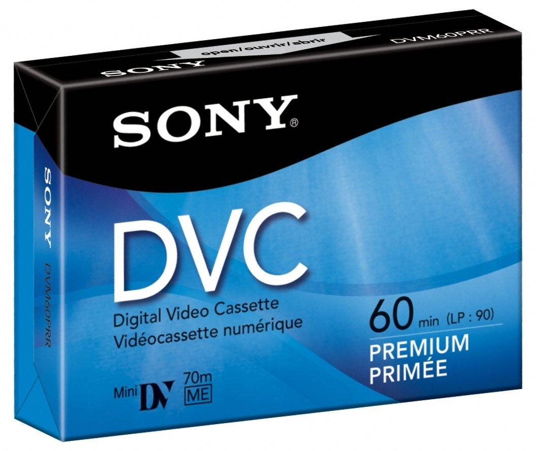 SONY MINI DV 60MINテープ