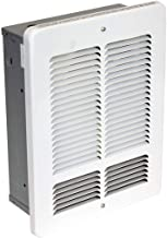 KING W2412-W W Series Wall Heater, 1200W / 240V, White