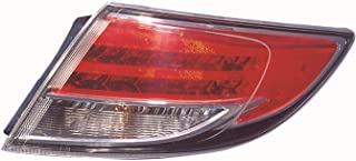 Outer Tail Light Replacement For Mazda 6 Passenger Right Side Rh 2009 2010 2011 2012 2013 Taillamp Assembly