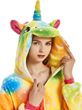 rainbow unicorn onesie for adults