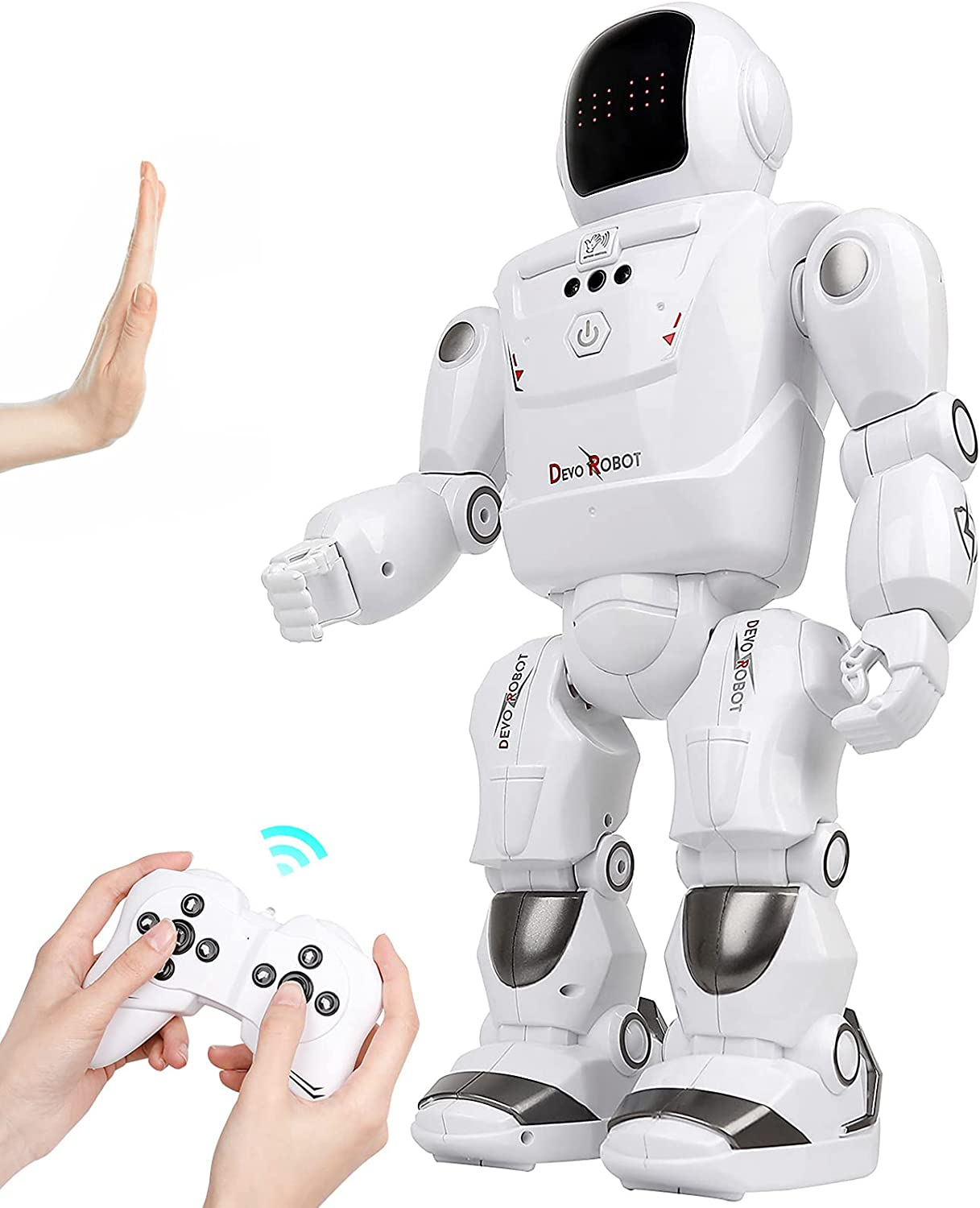 M SANMERSEN RC Robot Toys Interacti Programmable 67% OFF of fixed price Large Kids safety for