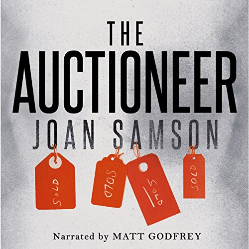 The Auctioneer audiobook cover art
