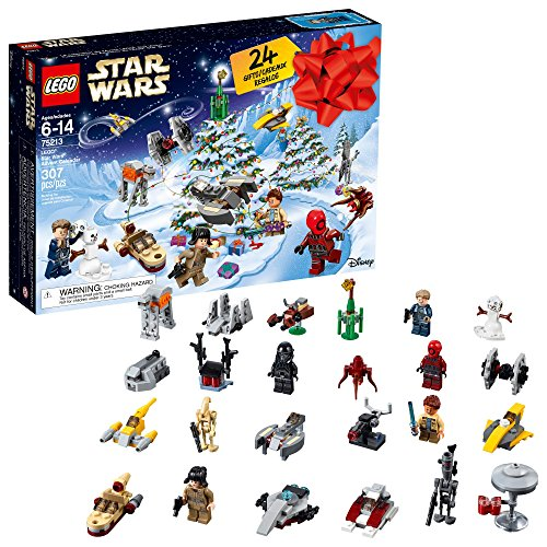 Star Wars Lego 307-Piece Advent Calendar - 2018 Edition