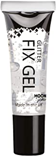 Glitter Fix Gel by Moon Glow - Cosmetic Glitter Adhesive Primer for Face and body