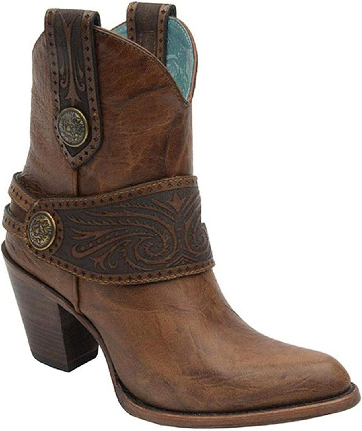 CORRAL Women's Engraved Harness Boot - C2907