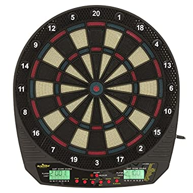 Arachnid DarTronic Soft Tip Electronic Dartboard Game Features 26 Games with 115 Options and includes 6 Soft Tip Darts