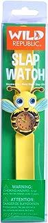 Wild Republic Bee, Slap Bracelets for Kids, Toy Watch, Educational Toys, 9