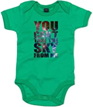 Brand88 - You Can't Take The Sky from Me, Printed Baby Grow