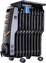 LVZAIXI Calentador de Aceite Ting Hogar Calentador eléctrico Oficina Aceite Ding Estufa de Horno Calefacción eléctrica 10 Piezas Tipo S