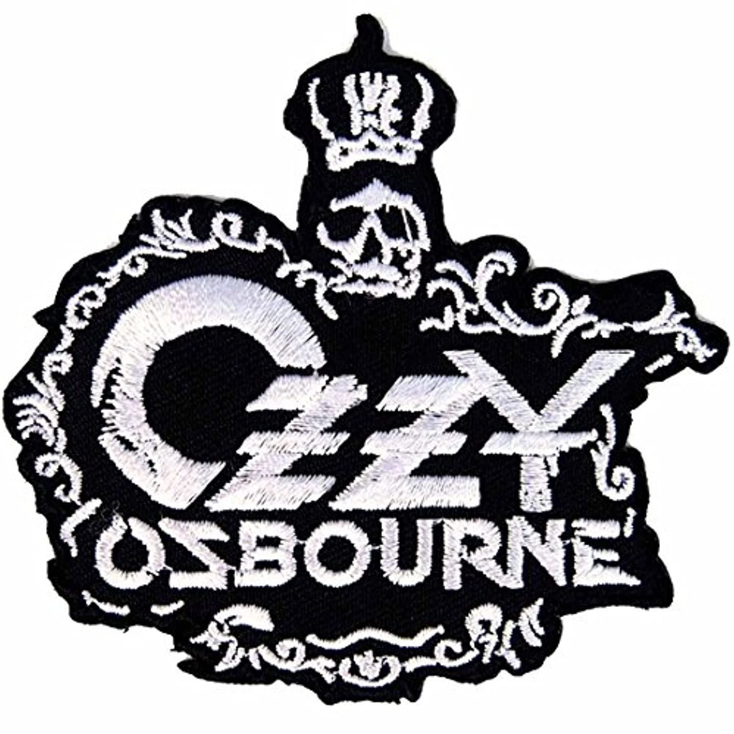 Ozzy Osbourne Heavy metal hard rock Iron On Patches # B-W # WITH FREE GIFT