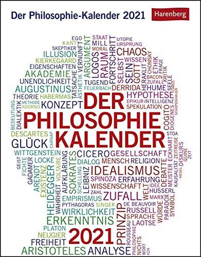 Der Philosophie-Kalender Kalender 2021
