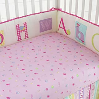 Laura Ashley Baby Owlphabet 4 piece Bumper Set