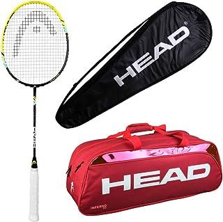 HEAD Head Xenon 2.2 Badminton Racquet Set with Inferno 70 red kitbag