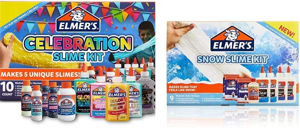 Elmer'S Clearance SALE Limited time Celebration Slime Kit Asso Include Indianapolis Mall Supplies
