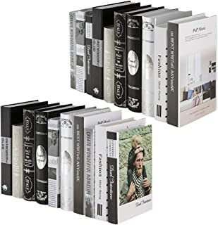 DOITOOL 2pcs Decorative Faux Books False Book Props Book Imitated Book Model Ornaments for for Study Room Cafe Tea Shop Li...