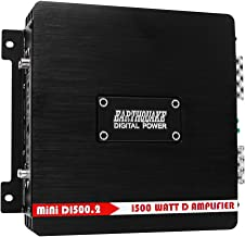 Earthquake Sound MiNi D1500.2 Stereo Class D 2-Channel Car Amplifier, 1500 Watts