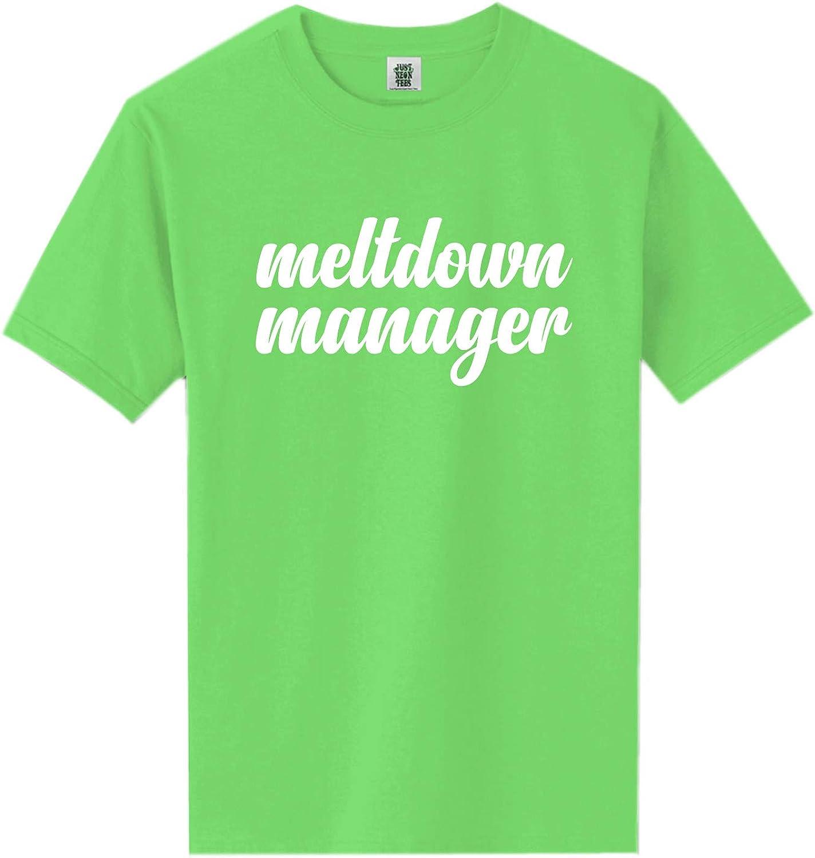 zerogravitee Meltdown Manager Short Sleeve Neon Tee