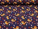 Softshell Stoff kleiner Fuchs, marine, wasser- und