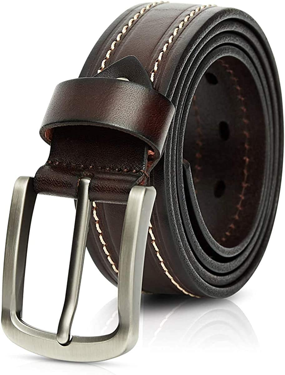 Naxxramas Limited Max 86% OFF time for free shipping Mens Belts Full Grain 1.5