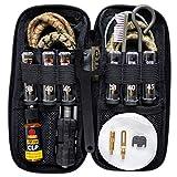 Otis Technology Professional Pistol Cleaning Kit for Glocks with Bonus Slide Back Plate for Glock Pistols Cleans 9mm.40cal & .45cal