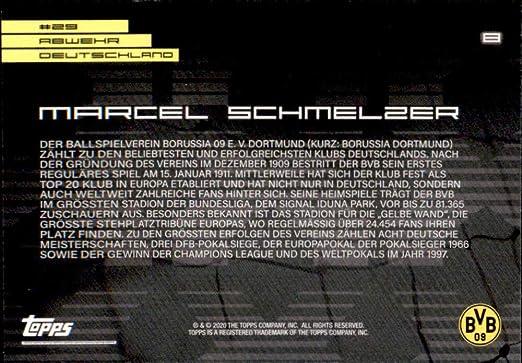 Amazon.com: 2020 Topps X Bundesliga Borussia Dortmund #8 Marcel ...
