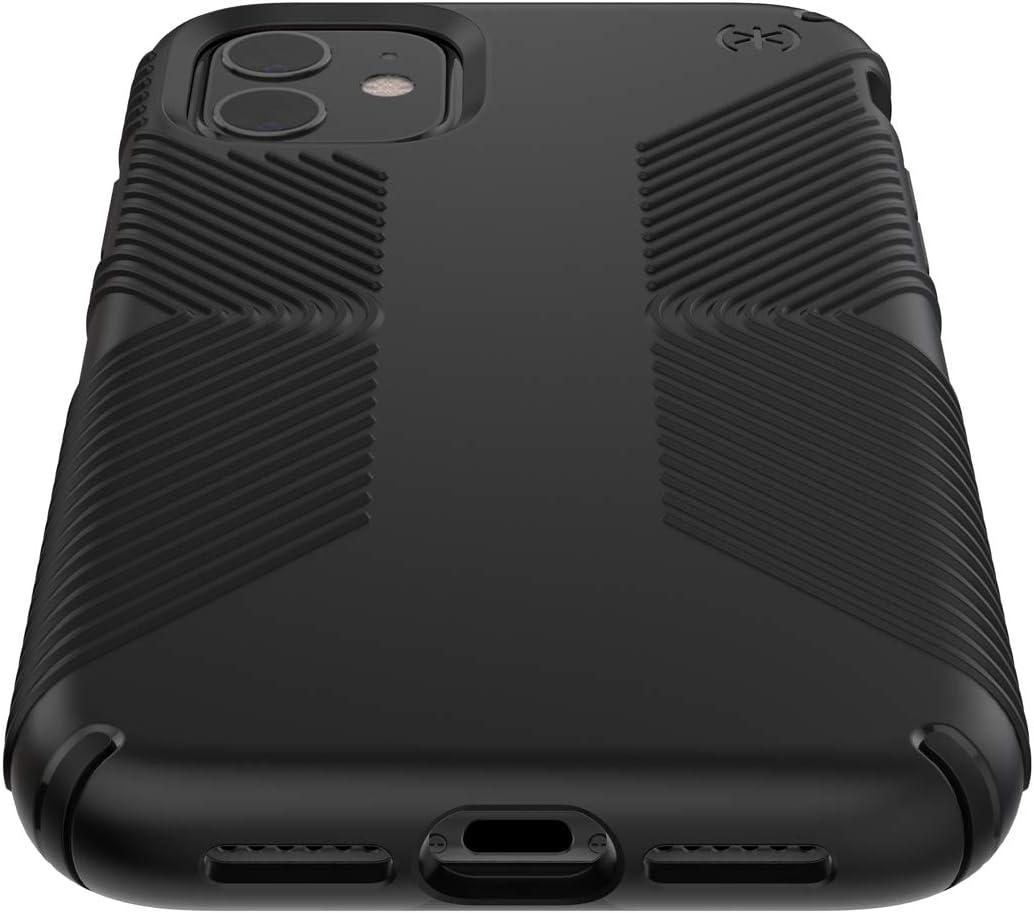 Speck Products Presidio Grip iPhone 11 Case, Black/Black