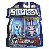 Slugterra Series 2 Chiller & Grimmstone Mini Figura 2-Pack