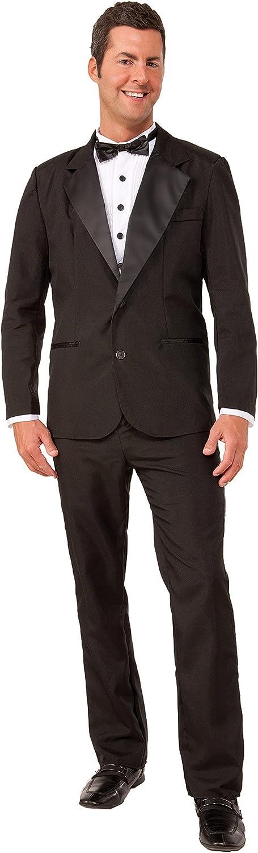 Forum Novelties Finally popular brand Men's Instant 2021new shipping free shipping Tuxedo Costume Zip-Up