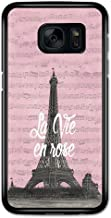 La Vie en Rose Paris France Eiffel Tower Retro Vintage Cool Fashion Design case for Samsung Galaxy S7