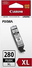 Canon PGI-280 XL Pigment Black Ink, Compatible to TR8520, TR7520, TS9120 Series,TS8120 Series, TS6120 Series, TS9521C, TS9...