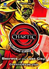 FREE Online Game Play at www.ChaoticGame.com 4 Rare Insert Foil Cards Per Deck Chaotic Animated Series on Cartoon Network Local and National Organized Play Now Available